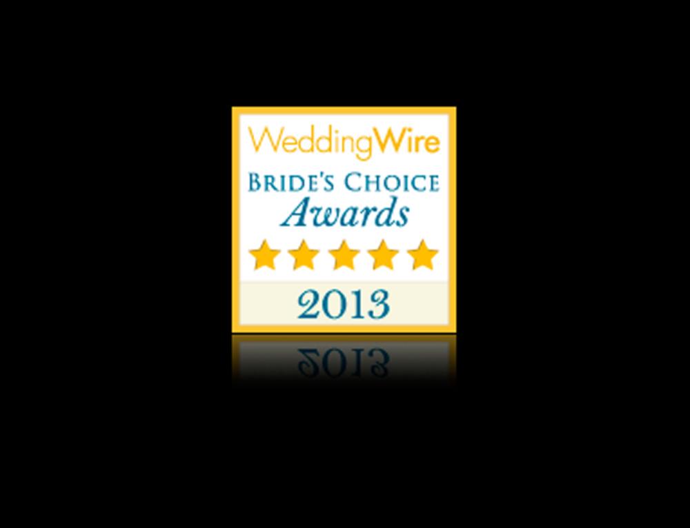 2013 Bride's Choice Award
